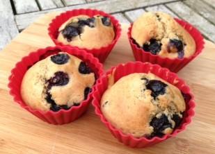 Bosbessen muffins